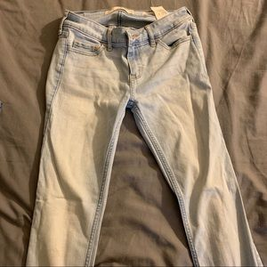 Hollister light blue jeans SIZE 1S